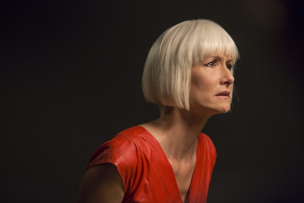 Laura Dern in a still from Twin Peaks. Photo: Patrick Wymore/SHOWTIME